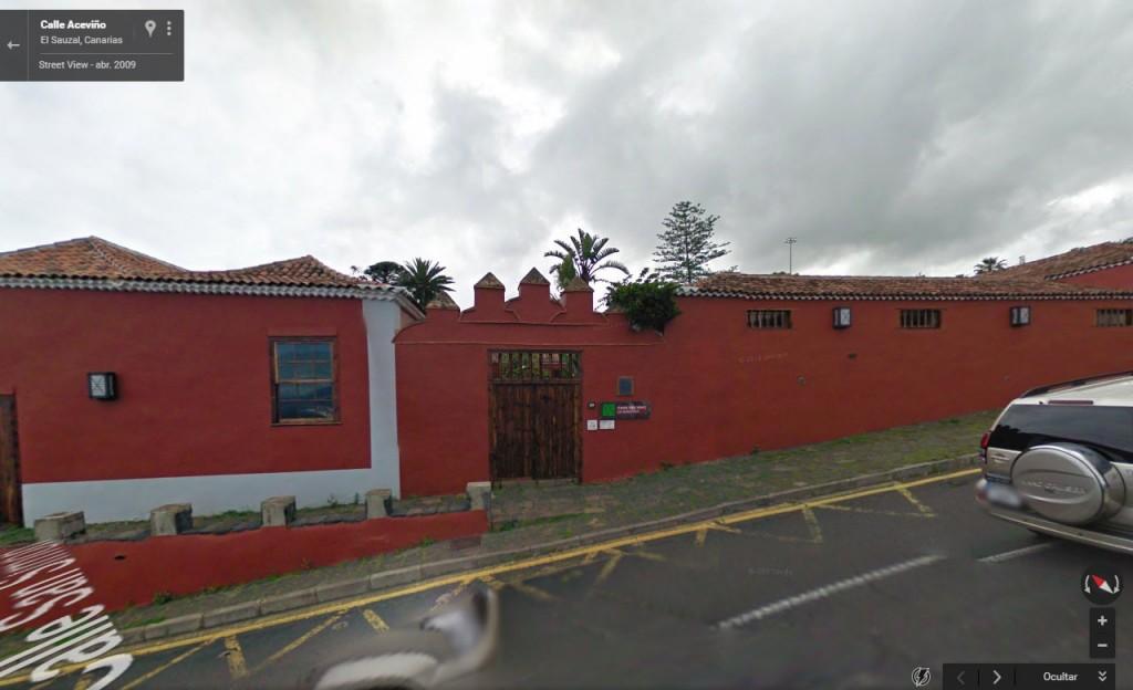 Casa del vino localización