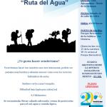 """SENDERISMO """"RUTA DEL AGUA"""" 16 DE JULIO."""