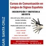 ¡CURSO DE LENGUA DE SIGNOS A1 (60 HORAS)!