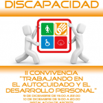 """II CONVIVENCIA """"TRABAJANDO EN EL AUTOCUIDADO Y EL DESARROLLO PERSONAL"""" 9 Y 10 DE DICIEMBRE."""