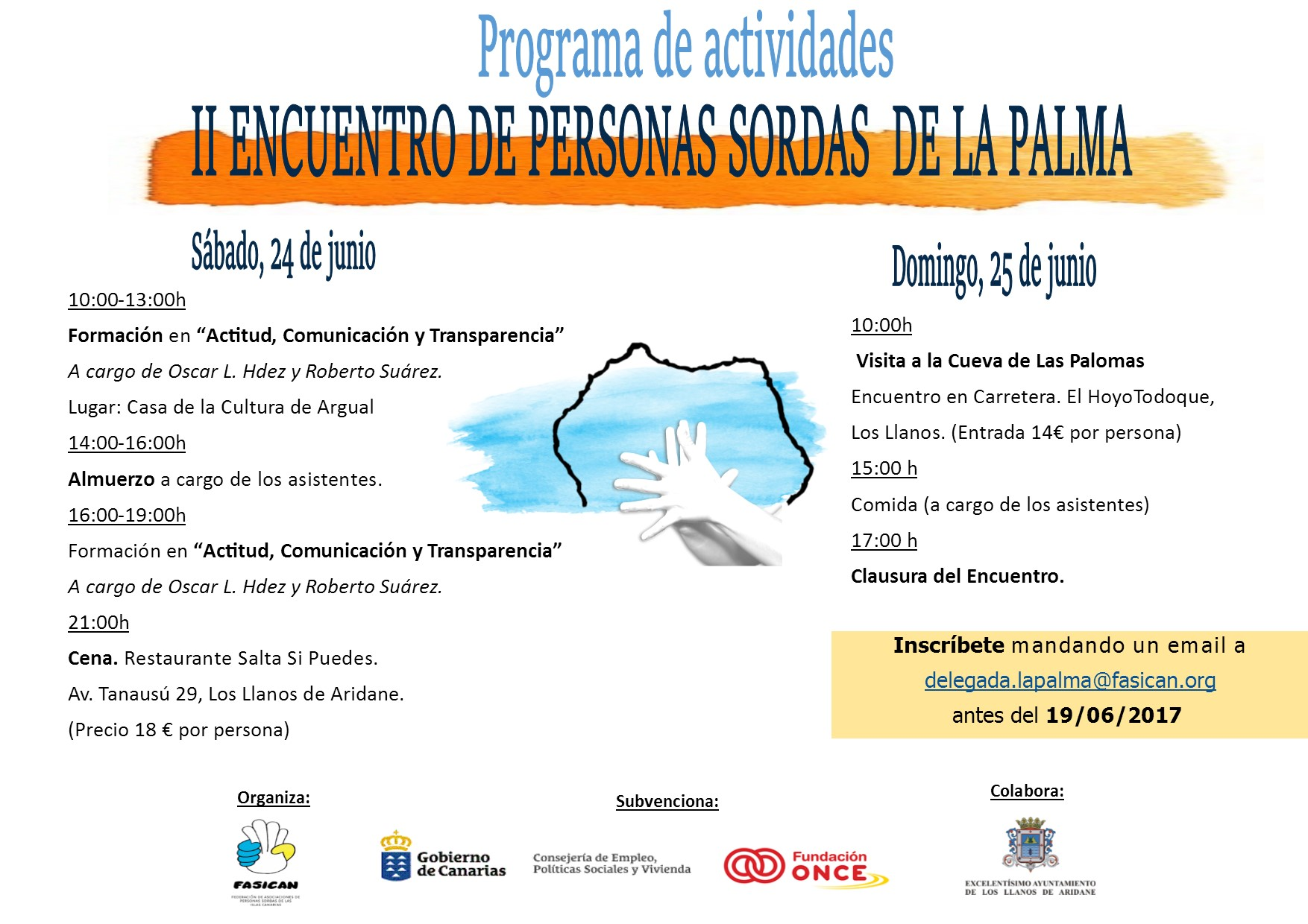programa encuentro La Palma