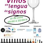 Cata de vinos en Lengua de Signos