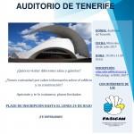 Visita guiada al Auditorio de Tenerife