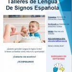 Talleres gratuitos de Lengua de Signos Española (LSE) para familiares con miembros sordos