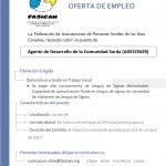 OFERTA DE EMPLEO PARA LANZAROTE-ADECOSOR