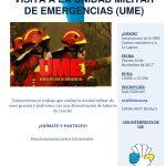 Visita a la Unidad Militar de Emergencia (UME) en Tenerife