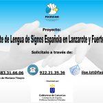 Continúa el servicio de intérprete de lengua de signos en Lanzarote y Fuerteventura
