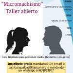 """Taller sobre """"micromachismos"""" dentro del Ciclo de Conferencias de Mujer Sorda"""