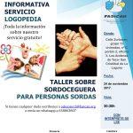 Charla sobre sordoceguera y presentación del nuevo servicio de logopedia (POSPUESTA)