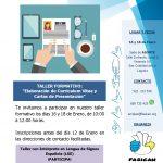Taller de Currículum Vitae y Cartas de Presentación