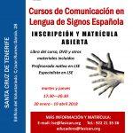 Curso de Comunicación en Lengua de Signos Española A1