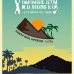 Inscripciones del X Campamento Estatal de la Juventud Sorda