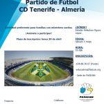 PARTIDO DE FÚTBOL CD TENERIFE – ALMERÍA