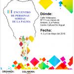 III ENCUENTRO DE PERSONAS SORDAS DE LA PALMA