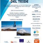 """Subida al Teide """"Juventud Sorda en Acción"""""""