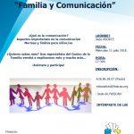 """Charla: """"FAMILIA y COMUNICACIÓN"""""""