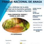 Ven a disfrutar de nuestras actividades de octubre en Tenerife