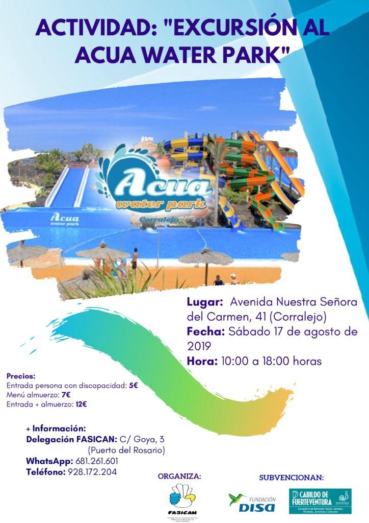 Excursión al Acua Water Park en Fuerteventura