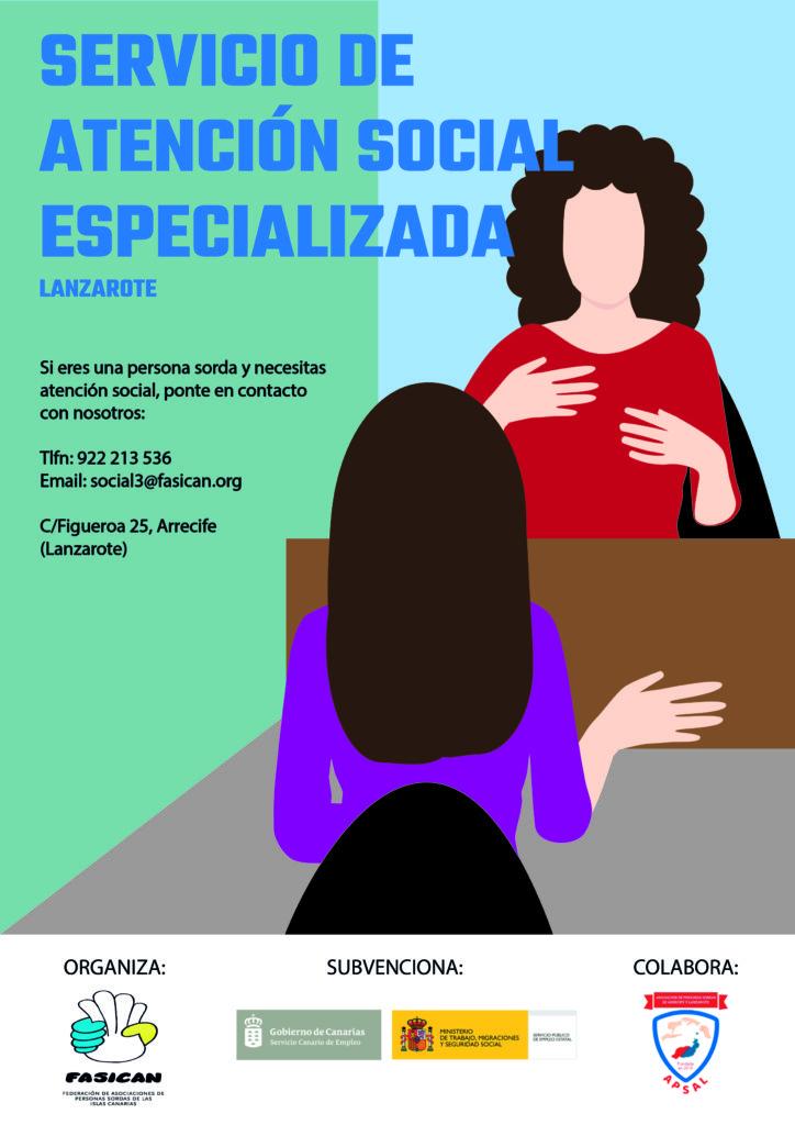 NUEVO SERVICIO: «Servicio de Atención Social Especializada»