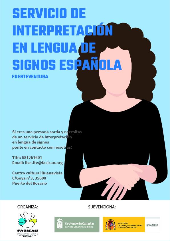 NUEVO SERVICIO: «Servicio de Interpretación en Lengua de Signos Española»